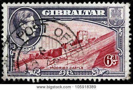 Moorish Castle Stamp