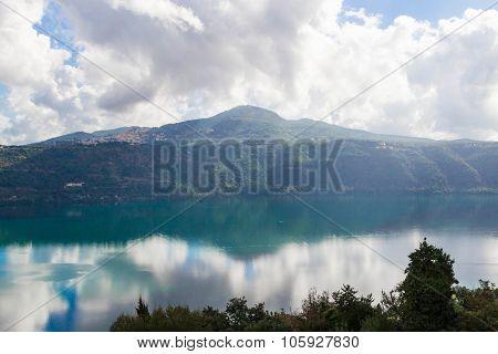 Lake Of Castel Gandolfo 4