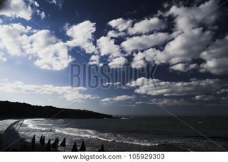 Beautiful Beach In Bulgaria