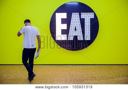 The Electric Eat By Robert Indiana