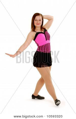 Bright Young Tap Dancer