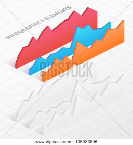 Set of white and colorful isometric graphs