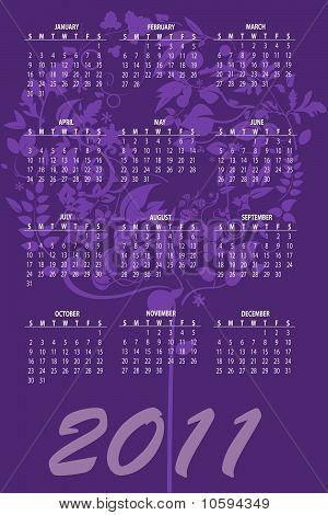 Kalender für 2011