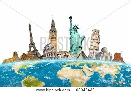 Famous Monuments Around The World