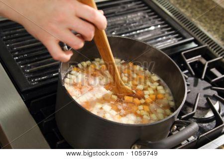 Stirring Up Dinner
