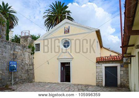 Church Of St. Leopold Mandic, Herceg Novi, Montenegro