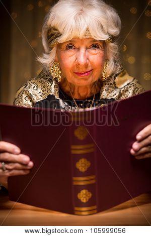 Fortune Teller Reading Magic Book