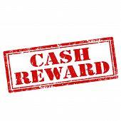 Grunge rubber stamp with text Cash Reward,vector illustration poster