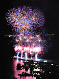 Flower Shaped Fireworks