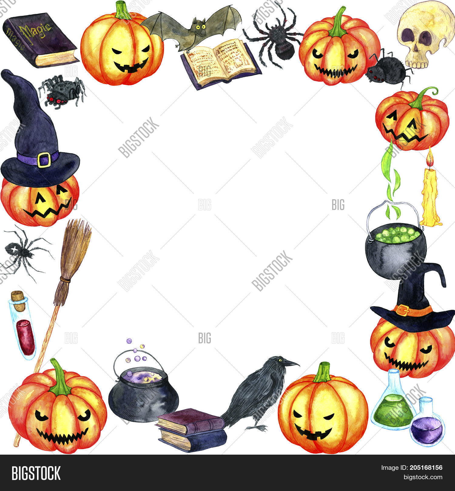 halloween template image photo free trial bigstock