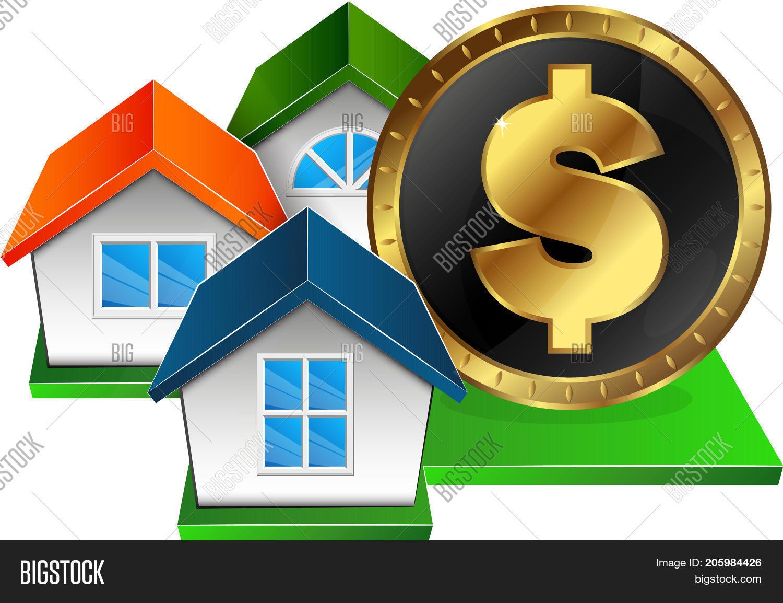 Real Estate Money Vector Photo Free Trial Bigstock