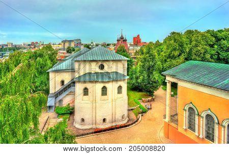 Spaso-Preobrazhensky or Transfiguration Monastery in Yaroslavl, the Golden Ring of Russia