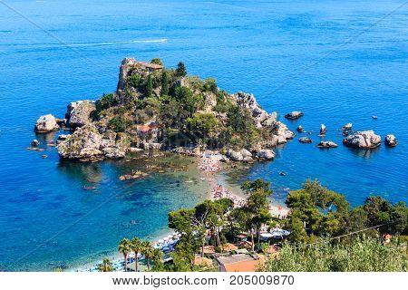 Taormina Isola Bella Islet, Sicily