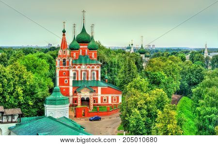 The church of Archangel Michael in Yaroslavl, the Golden Ring of Russia