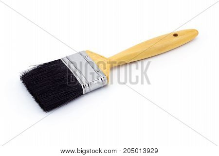 Paint brush isolated on a white background.
