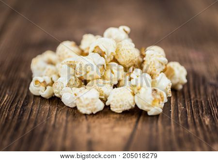 Portion Of Popcorn