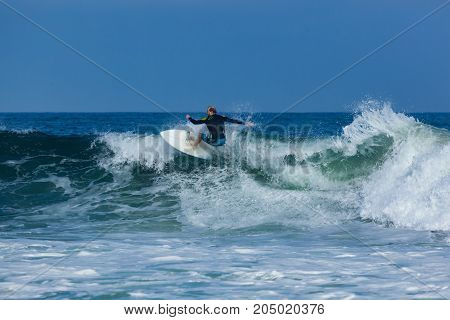 Surfing In Deal New Jersey