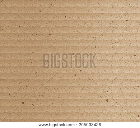 Vector Brown Cardboard Texture.Brown cardboard illustration design.