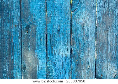 wood, board, old, cracked, natural, paint, blue, corrosion, nails, background, texture, time, fence, grungy, wall, fence, relief, surface, structure,
