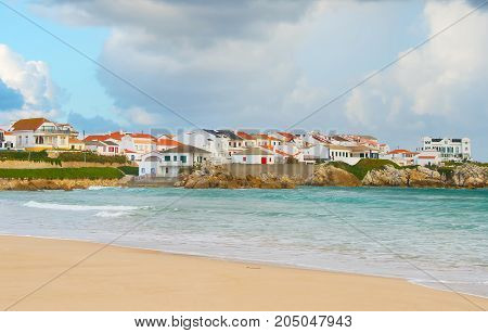 Portugese Coastal Town . Baleal
