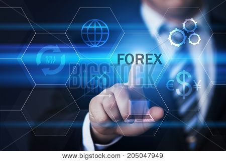 Forex Trading Stock Market Investment Exchange Currency Business Internet Concept.