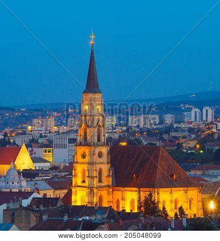 Saint Michael Church. Cluj-napoca