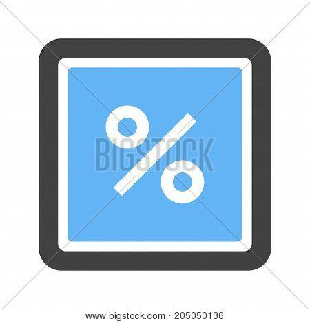 Percentage, Maths, Sign Icon Vector & Photo | Bigstock