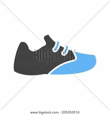 Runner, jogger, exercise icon vector image. Can also be used for Men Accessories. Suitable for mobile apps, web apps and print media.