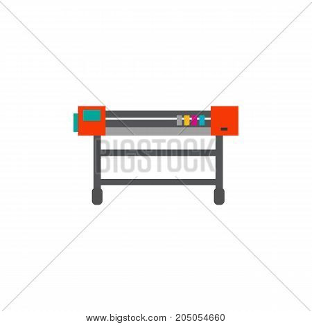 Icon of printing machine. Copier, service, peripheral. Printer concept. Can be used for topics like technology, printing office, production