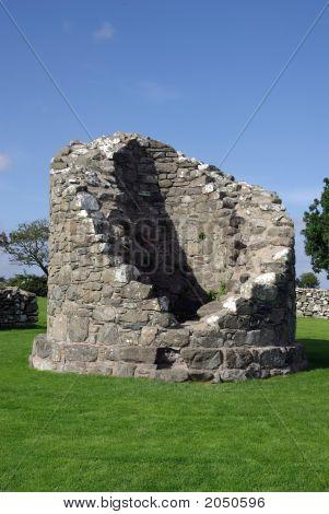 Nendrum Round Tower Remains