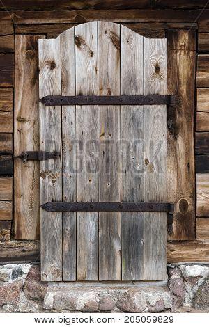 The old wooden door - Vintage Background