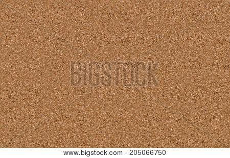 A brown cork texture background - close up