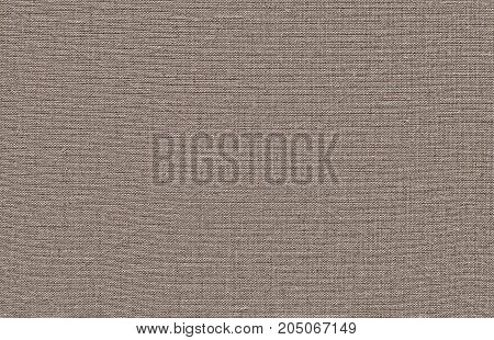 A Brown Woven Linen Fabric Texture Background