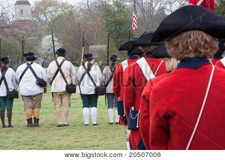 Colonial Re-enactors