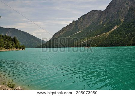 Plansee is a lake in the Tyrol, Austria