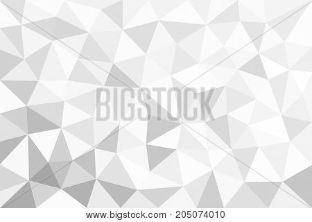 Grey  Trigonal, Polygonal Background
