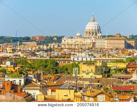 View Of The Rome And Vatican