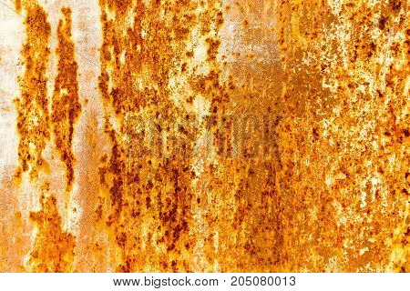 Abstract background of rusty metal gate. texture