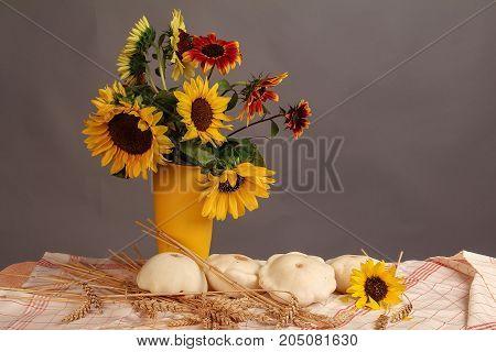 Autumn still life / Autumn bouquet .