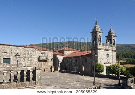 San Xoan Church Of Cerdedo, Pontevedra Province, Galicia, Spain