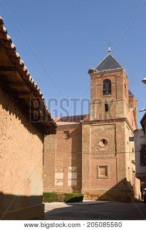 El Salvador Church In Villanueva Del Campo, Tierra De Campos Region, Zamora Province, Castilla Y Leo