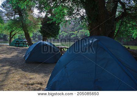 çadır kampı camping lake göl fores orman