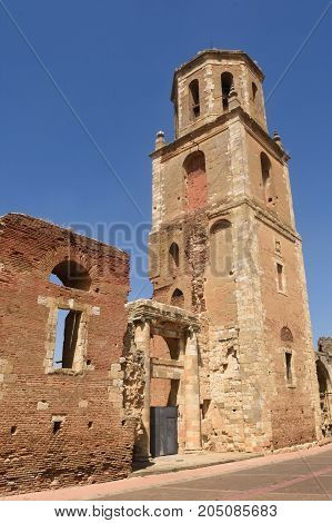 Monastery Of San Benito And The Ruins Of The Monastery Of San Facundo And San Primitivo,sahagun, Spa