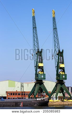 Harbor Gantry Cranes