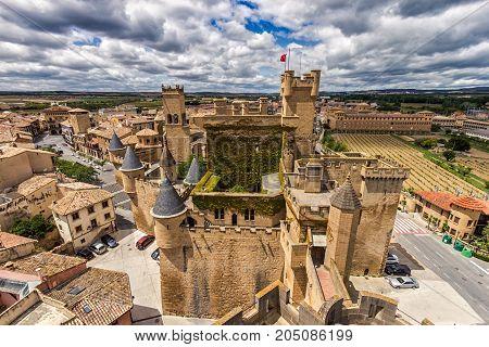 Castle Olite Navarra Spain
