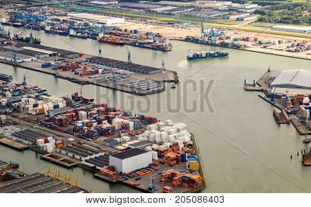 Port Of Rotterdam Container Terminal