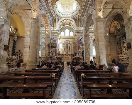 Santa Maria Cathedral In Cagliari