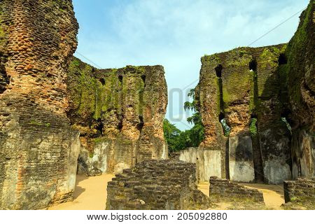 Ancient Royal Palace Ruins