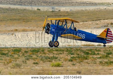 Sivrihisar, Eskisehir, Turkey - September 17, 2017: Sivrihisar Airshows (shg), Small Aviation Event