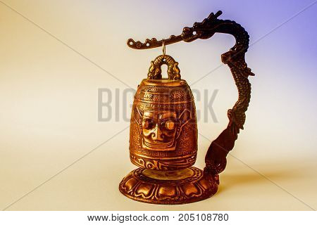 Chinese Temple Bell Small